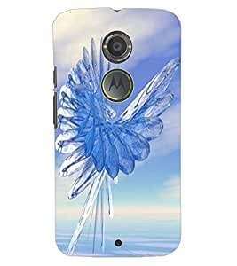 ColourCraft Abstract Image Design Back Case Cover for MOTOROLA MOTO X2