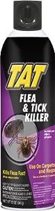 TAT Flea and Tick Killer Aerosol, 12-Ounce