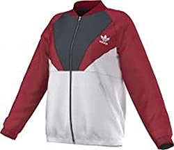 adidas Originals Women's Down Jacket (S19671_Red and White_40)