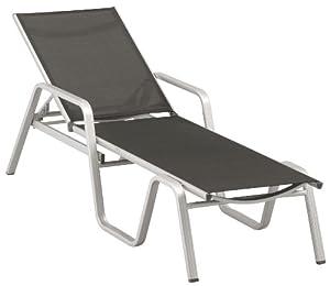 kettler basic alu liege textilene mocca. Black Bedroom Furniture Sets. Home Design Ideas
