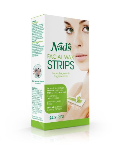 New Nads Hypoallergenic Facial Strips strips