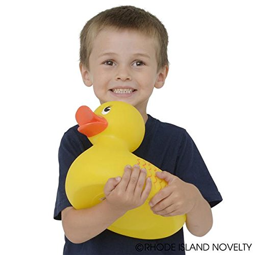 "Rhode Island Novelty 10"" Classic Style Rubber Duck (1 Piece)"