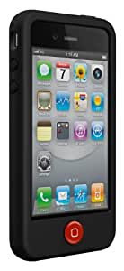 SwitchEasy Colors Silicone Case for iPhone 4 & 4S - Stealth