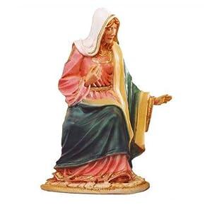 Statua in resina madonna per presepe da cm 30 - Statue da giardino in resina ...