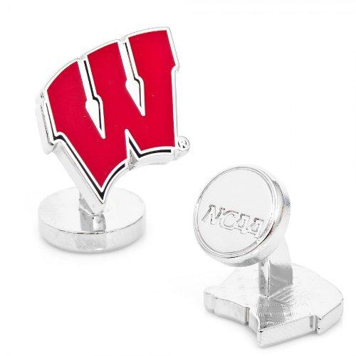 Palladium University Of Wisconsin Badgers Cufflinks