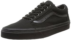 Vans OLD SKOOL VD3H Unisex-Erwachsene Sneakers, Schwarz (Black/Black BKA), EU 43