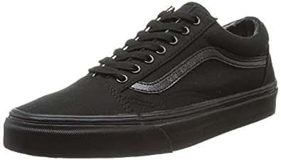 Vans U Old Skool VD3HY28 Unisex-Erwachsene Sneaker, Schwarz (BLACK/WHITE), EU 34.5 (US 3.5)