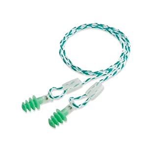 Clarity Reusable Earplugs Style: Size Group:Small, Color:Green/Clear (1005328)