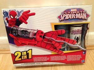 Marvel Ultimate Spider-Man Mega Blaster Web Shooter ...Ultimate Spider Man Web Blaster
