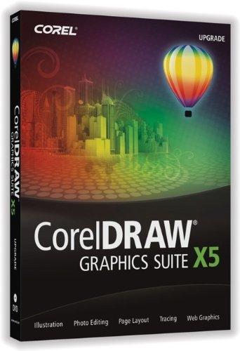 CorelDRAW Graphics Suite X5 Upgrade [Old Version] (Micrografx Windows Draw compare prices)