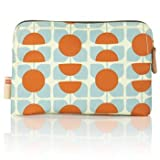 Orla Kiely Orla Kiely Square Flower Orange & Blue Cosmetic Bag