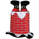 Beistle 1-Pack Plush Santa Chimney Hat