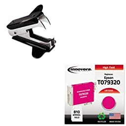 KITIVR79320UNV00700 - Value Kit - Innovera Compatible Reman High-Yield T079320 79 Ink (IVR79320) and Universal Jaw Style Staple Remover (UNV00700)