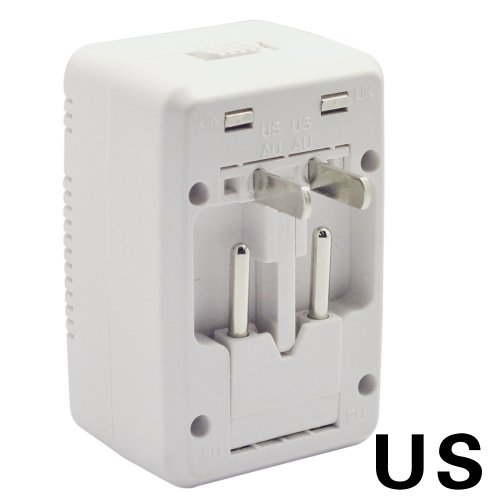 BESTEK Universal travel adapter usb charger wall adapter converter travel charger adapter tablet charger cell phone mobile charger home ac iphone charger ipod samsung charger pda htc charger blackberr