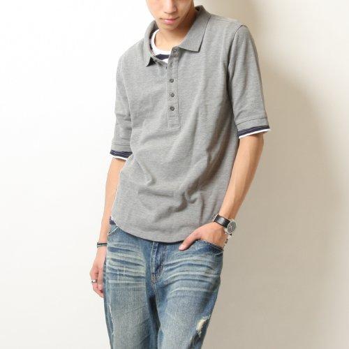 【9301】Extrap(エクストラップ) 5分袖 ポロシャツ