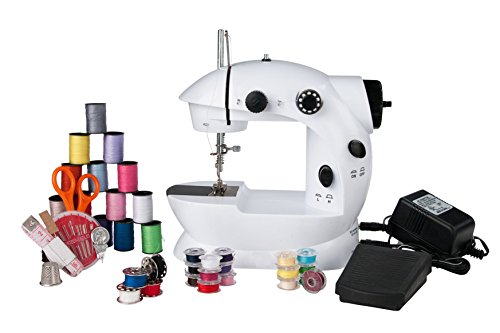 Mini Sewing Machine 76 Piece Sewing Kit Included SC-08K