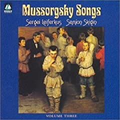 Mussorgsky;Cpte.Songs Vol.3