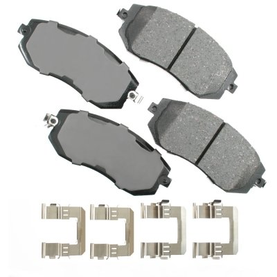 ProACT ACT1539 Akebono ProACT Ultra Premium Ceramic Disc Brake Pad Kit by Akebono