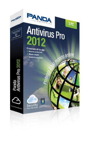 Panda Antivirus Pro 2012 to 3 Licenses 12 months