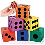 Foam Jumbo Playing Dice (12)