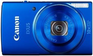 Canon IXUS 155 Digitalkamera (20 Megapixel, 10-fach opt. Zoom, 6,8 cm (2,6 Zoll) LCD-Display, HD-Ready) blau