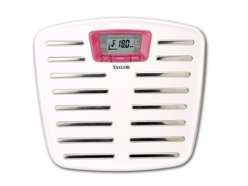 Image of Taylor 5571 Breast Cancer Awareness Body Fat Scale (5571P)