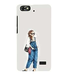 EPICCASE Dungry girl Mobile Back Case Cover For Xiaomi Redmi Mi4c (Designer Case)
