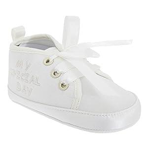 Chaussures de baptême - Bébé unisexe (Taille 3: 12-18 mois) (Comme illustrées)