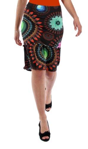 Skirt Desigual Marilyn Xs A Xl M Couleurs Black