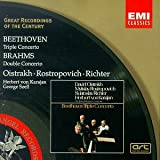 Great Recordings Of The Century - Beethoven: Triple Concerto; Brahms: Double Concerto / Oistrakh, Rostropovich, Richter