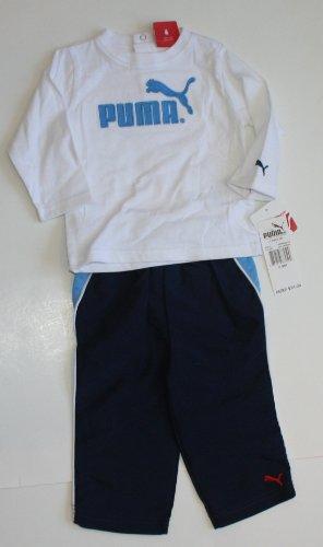 Puma Baby/Infant Boy/Girl 2 Piece Set - Size: 6-9 Months Azure Blue