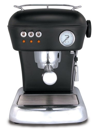 Ascaso DR.119 Dream 16-Bar-Pump Espresso Machine, Night Black