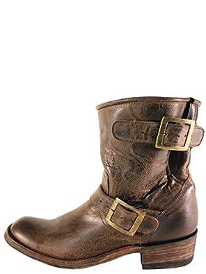 Old Gringo Biker Plain Chocolate MD Boots - L939-13 - 6.5 - M