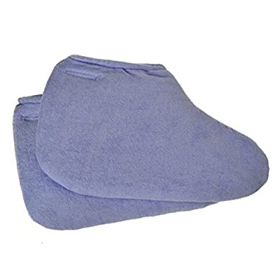 Paraffin Wax Therapy/ Spa Cloth Booties- 3 Pack (Lavender/Purple)