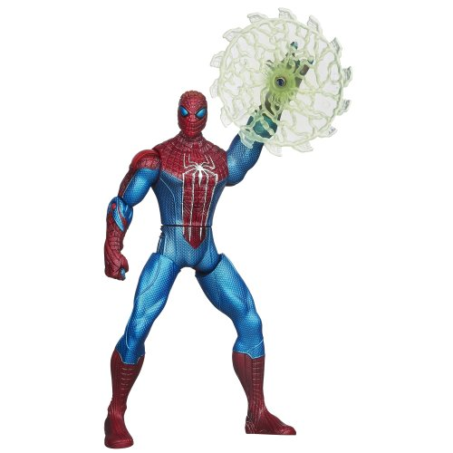 The Amazing Spider-Man Web Battlers Web Blade Spider-Man Figure - 1