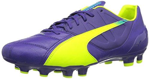 puma-evospeed-43-mens-football-boots-scuba-blue-prism-violet-yellow-10-uk