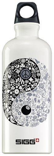Sigg Design Water Bottle (0.6-Liters, Yin Yang) front-988781