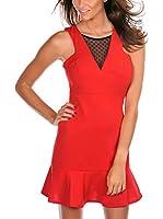 FRENCH CODE Vestido Manuela (Rojo)