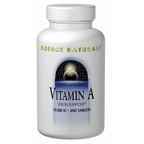 Source Naturals - A Palmitate, 10000 Iu, 250 Tablets [Health And Beauty]