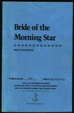 BRIDE OF THE MORNING STAR (A Double D Western), Don Coldsmith
