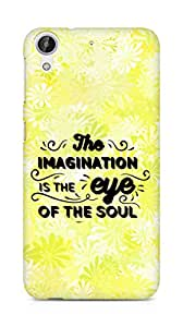 Amez The Imagination is the Eye of the Soul Back Cover For HTC Desire 626 LTE