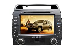 See AupTech 2004-On Toyota Landcruiser LC200 DVD Player Android System GPS Navigation Radio Stereo Video 2-Din HD Screen With Bluetooth,Wifi,3G,Build in Analog TV and Steering Wheel Control Details