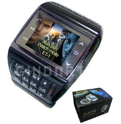 Generic GSM Quadband Voice Dialing Watch Cell