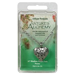 Nature's Alchemy Heart Diffuser Pendant, 1 Pendant