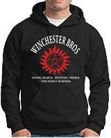 Touchlines Herren Kapuzenpullover Winchester Bros Family