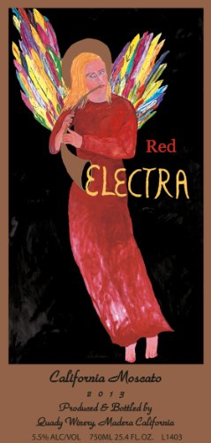 2013 Quady Red Electra Moscato Muscat - Blend 750 Ml