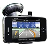Just Mobile Xtand Go Windshield Window Dash Mount Holder for iPhone 4 4S 5, BLACK