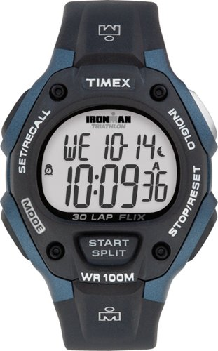 Timex Men's Ironman Traditional 30-Lap Flix Watch T5H591