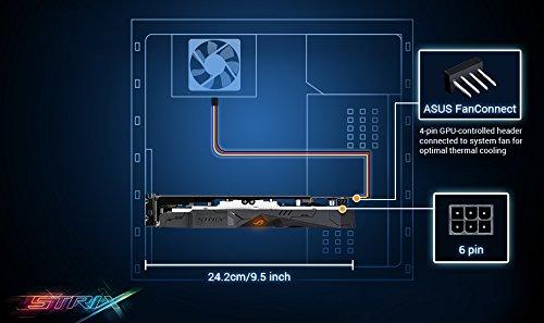 ASUS ROG STRIX Radeon Rx 470 4GB OC Edition AMD Graphics Card with