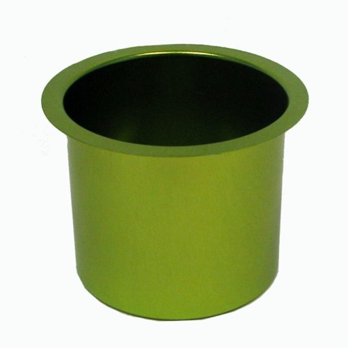 Trademark Poker Jumbo Aluminum Poker Table Cup Holder (Green) - 1